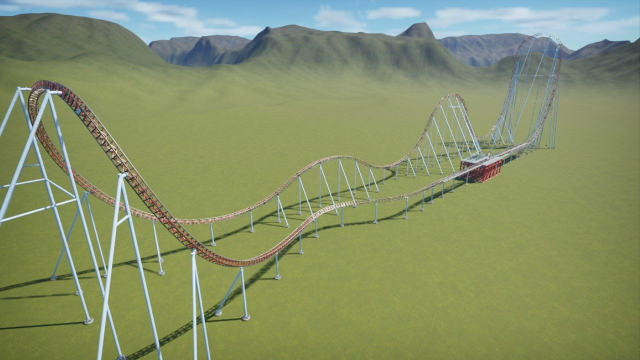Intamin hydralic launch coaster