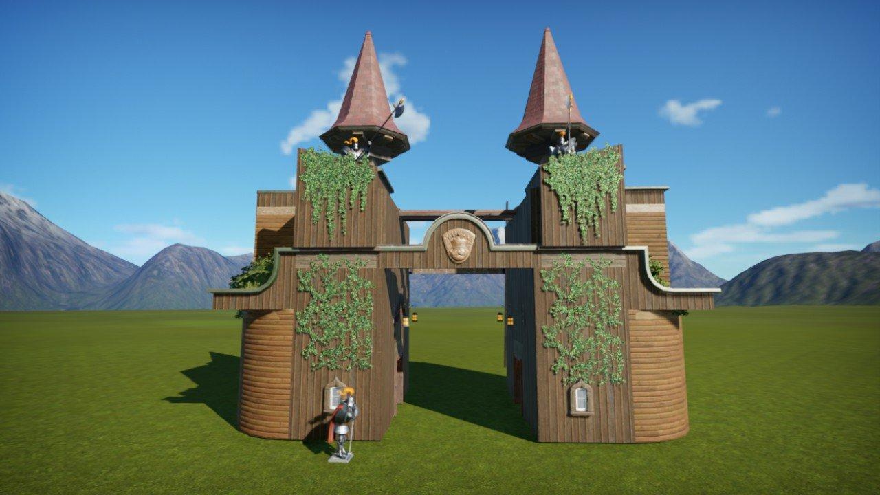 Mittelalter Eingang