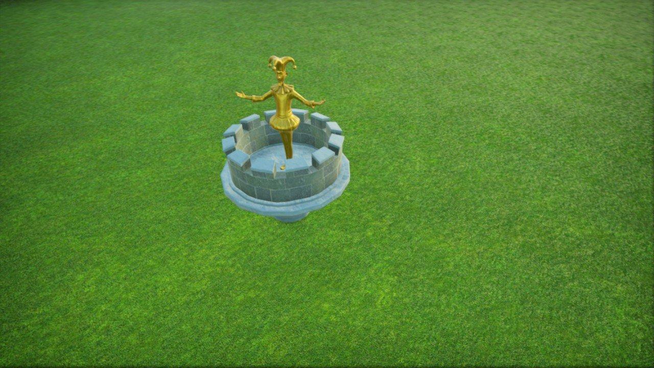 Fountain centerpiece