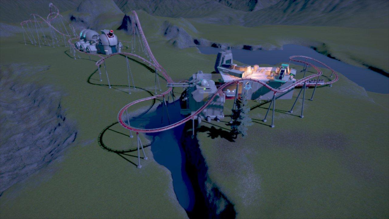 Sci-FI coaster