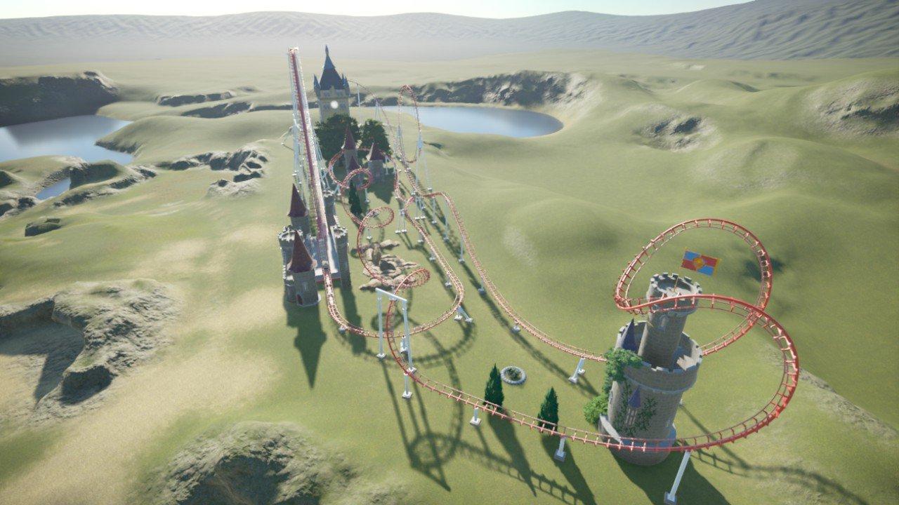 Tutorial castle coaster