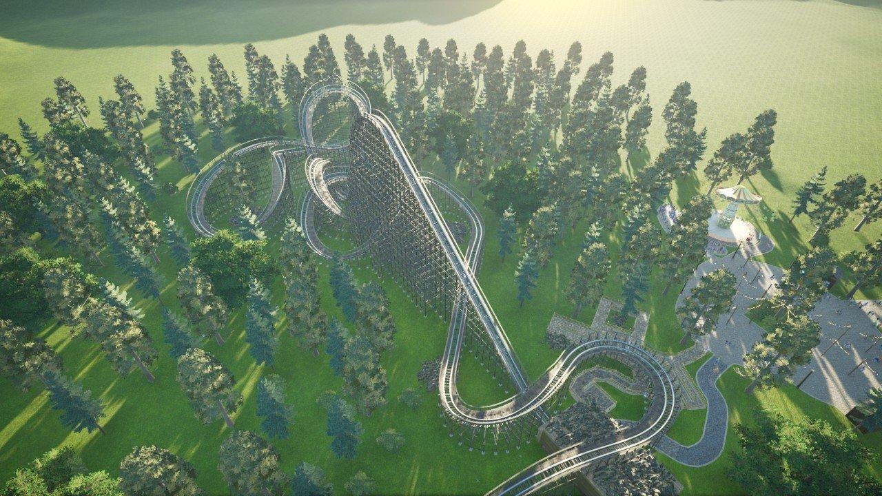 Ripper roller coaster Themed Version
